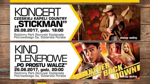 Koncert i Kino Plenerowe