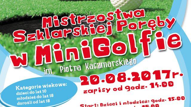 Mistrzostwa Szklarskiej Poręby w Minigolfie im. Piotrka Kaczmarskiego